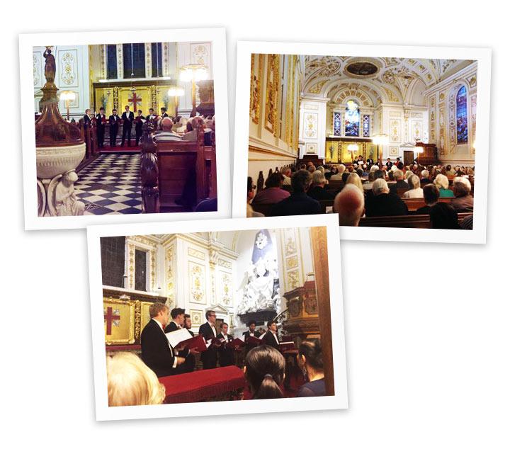 Fundraising Concert by The Gentlemen of St John's College Cambridge