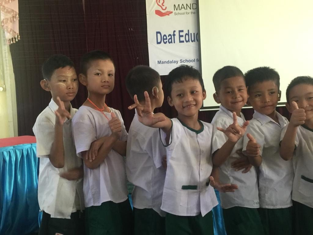 Visit to Myanmar Schools for the Deaf – November 2018 – Mandalay